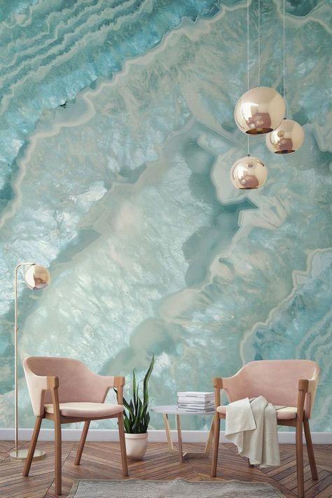 Màu xanh trong thiết kế nội thất
