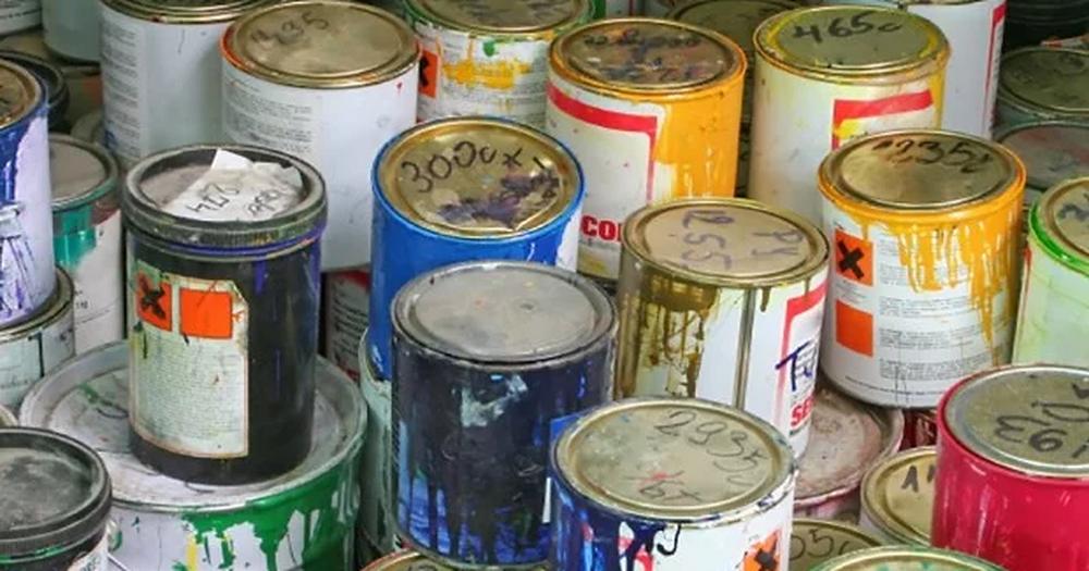Trong sơn có chất bay hơi, chất bay hơi cao có thế dẫn đến cháy nổ