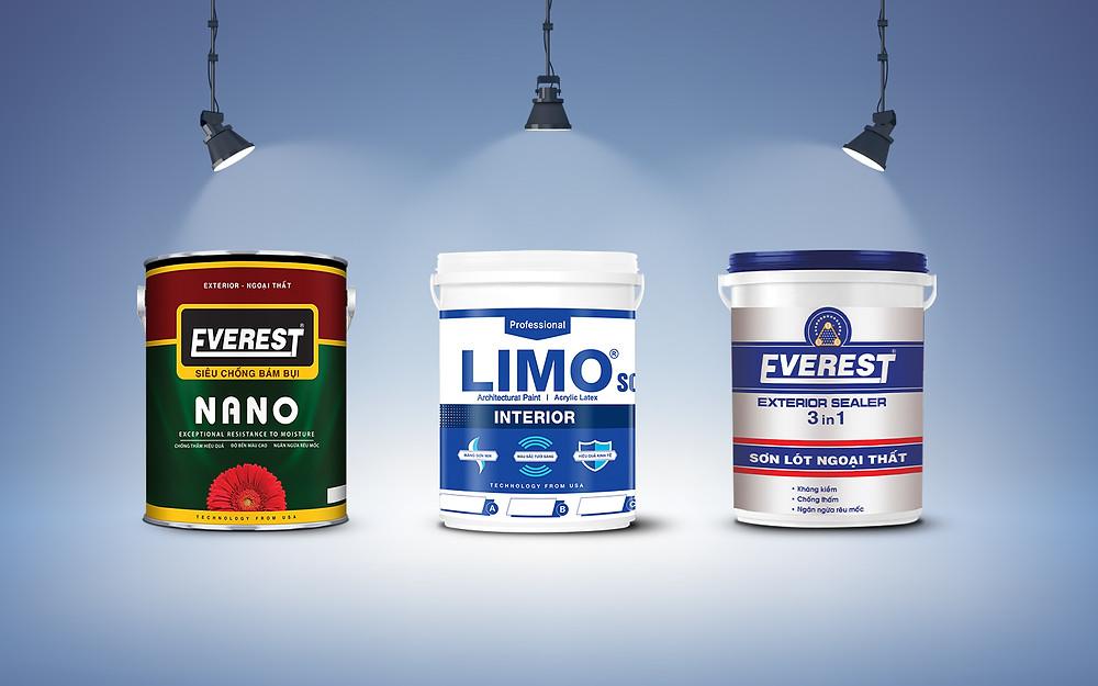 Sơn everest là loại sơn tốt nhất thị trường sơn thời điểm hiện tại và trong tương lai.