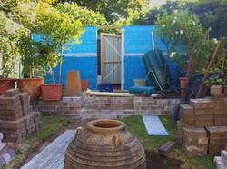 Tiered Gardens & Storage Space