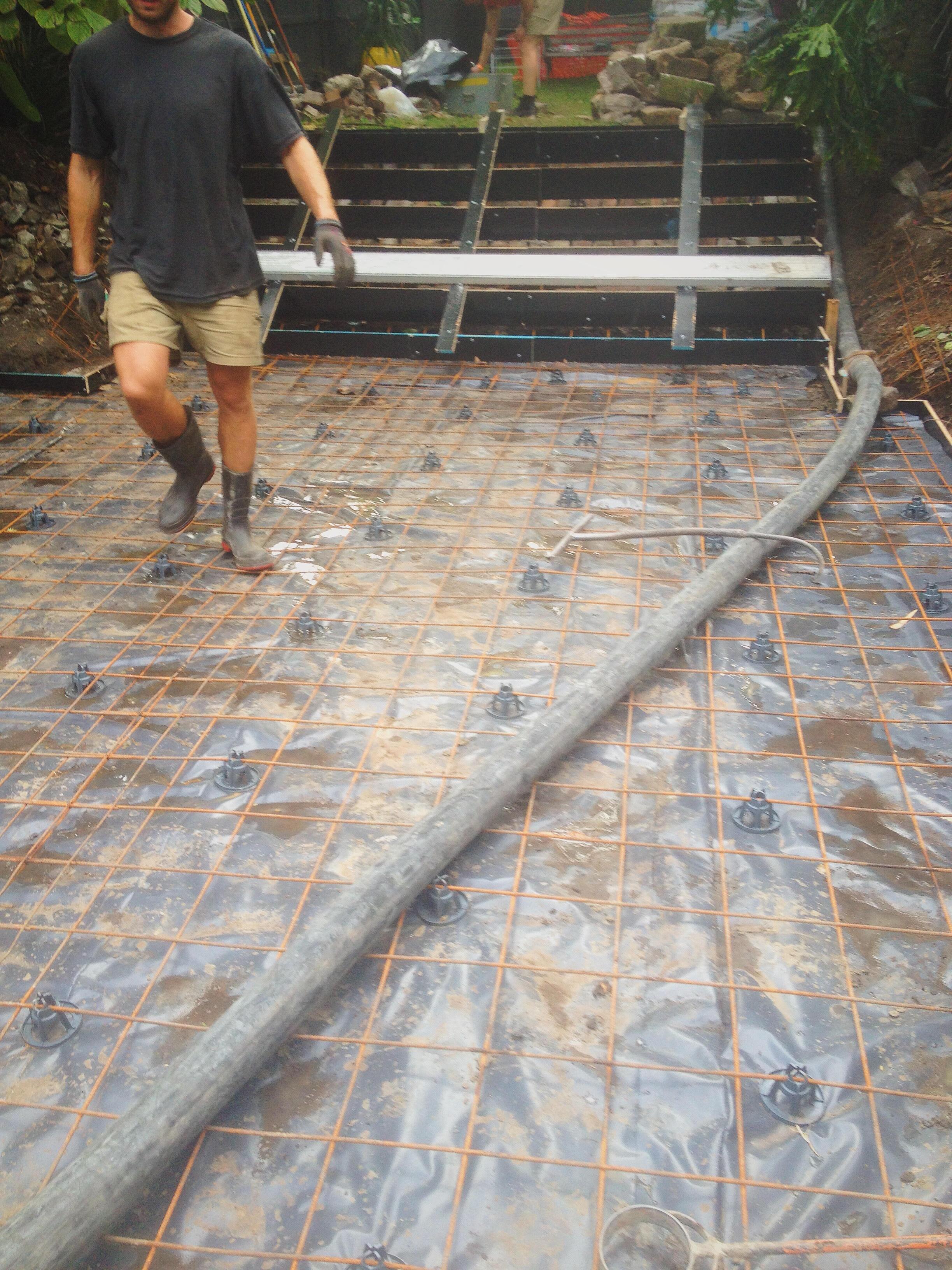 Concrete Pours, Steps & Slabs