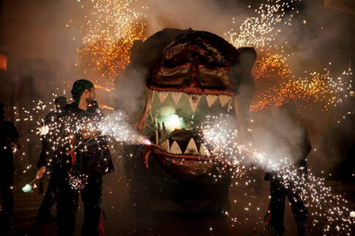 Fire & Dragons in El Vendrell (Catalonia)