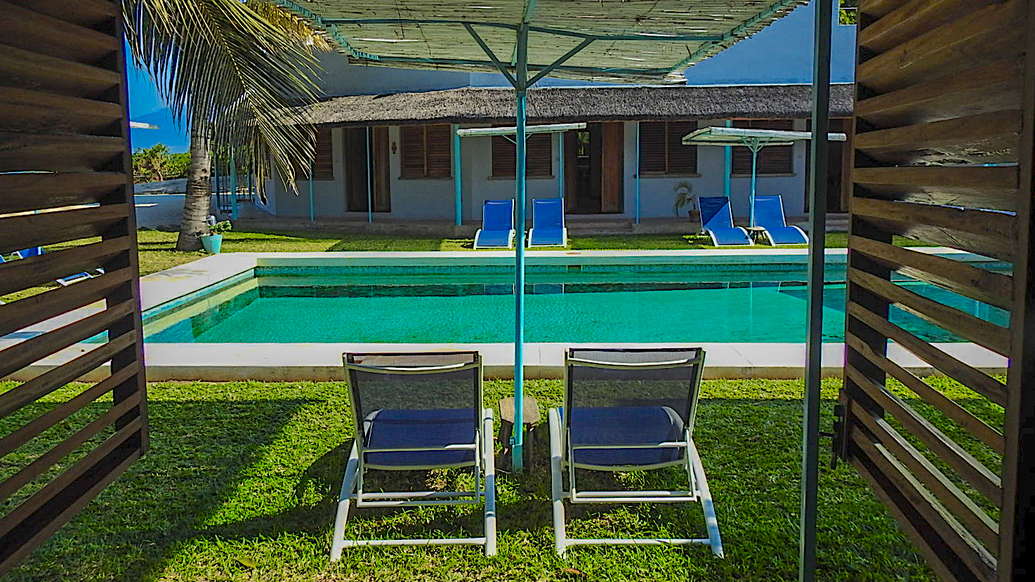 Pool View from Standard Ensuite Room