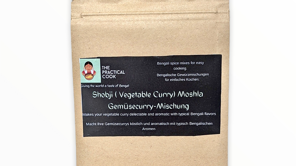 Shobji Moshla: Vegetable Curry Mix