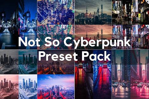 Not So Cyberpunk Preset Pack