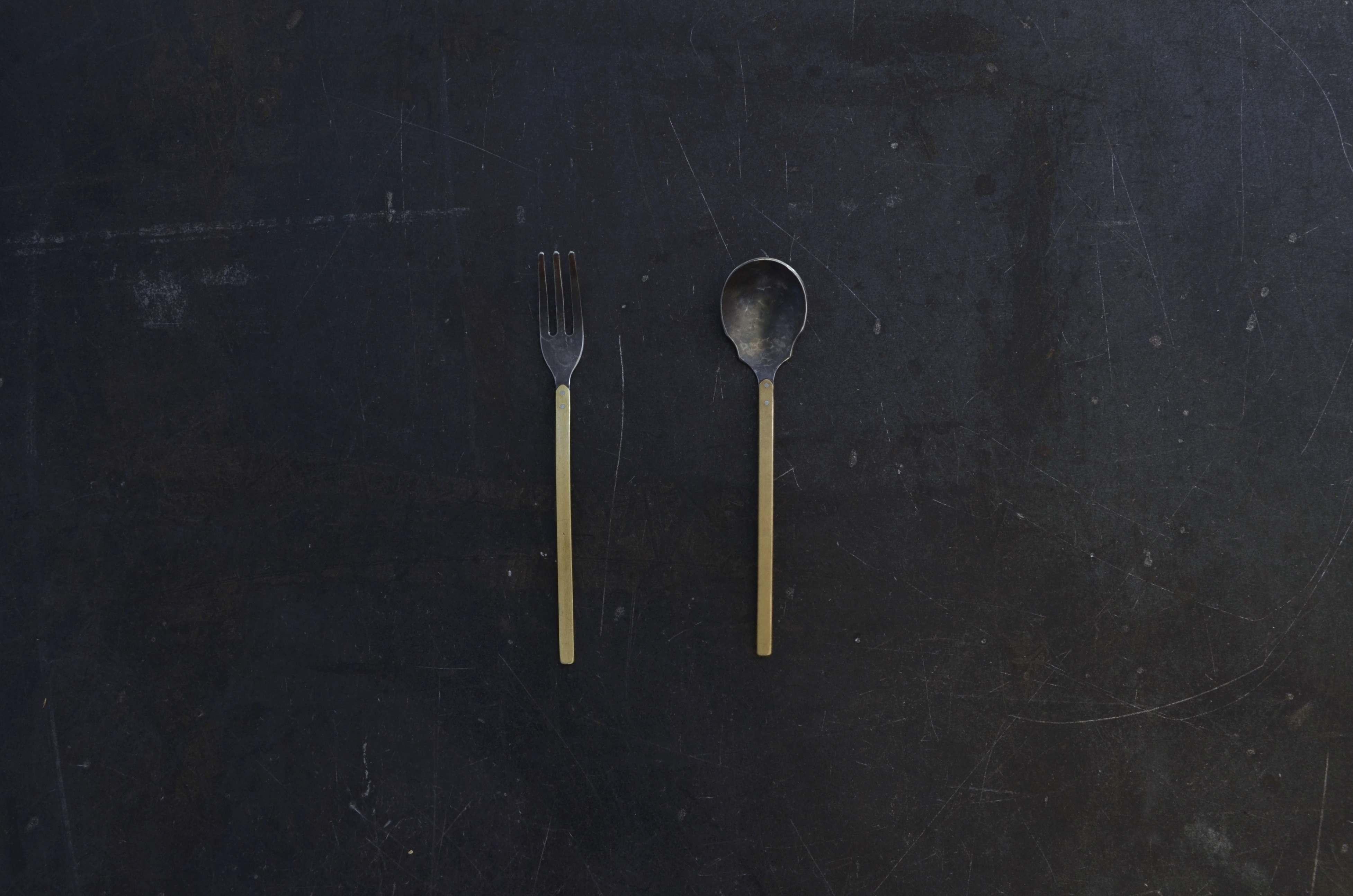 Tea fork / tea spoon