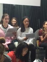 Summer 2016 - Sheridan College rehearsals