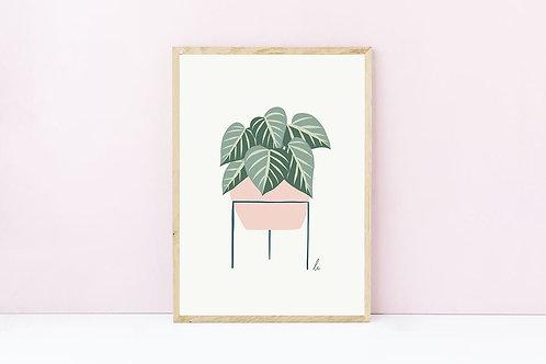 Morgan Art Print A4