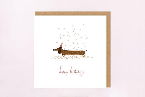 Party Sooosage Birthday Card