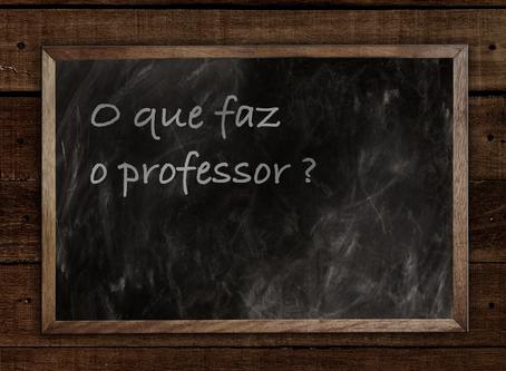 O que diria hoje o mestre Nelson Jahr Garcia                   (Professor discípulo)
