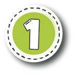 Number 1 green button.png