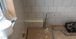 Hunstanton bathroom tiling gets a new lift