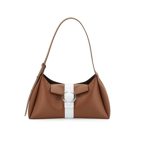 IMAGO-A Exclusive Two-Tone Shoulder Bag