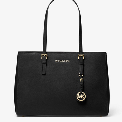 Michael Kors Black Jet Set Tote Bag