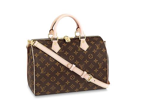 Louis Vuitton Speedy Bandouliere 30 Monogram Crossbody Bag