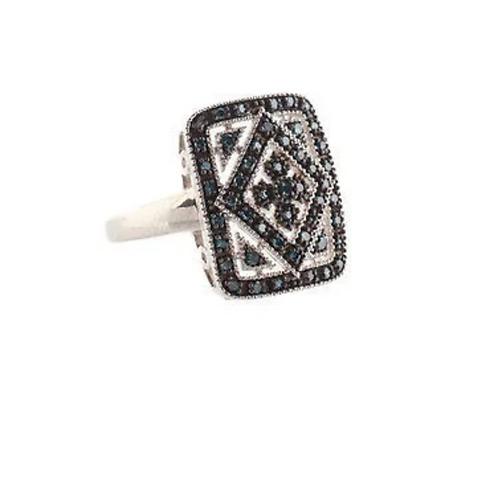 Ring, Custom Designed, Diamond Face Card