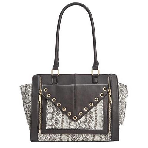Handbag, INC Bridget Leather Snake Print