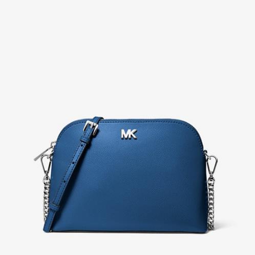 Michael Kors Dome Crossbody Bag Blue