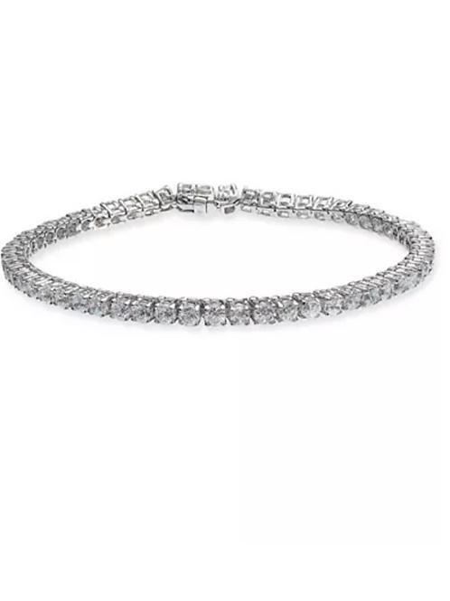 Diamond (6 C.T.T.W.) Tennis Bracelet 14K White Gold