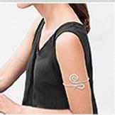 Arm Bracelet or Bangle Bracelet 75mm (23.7 grams) 80mm (26.5 Grams)