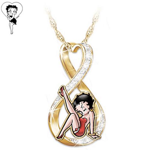 Betty Boop Pendant Necklace