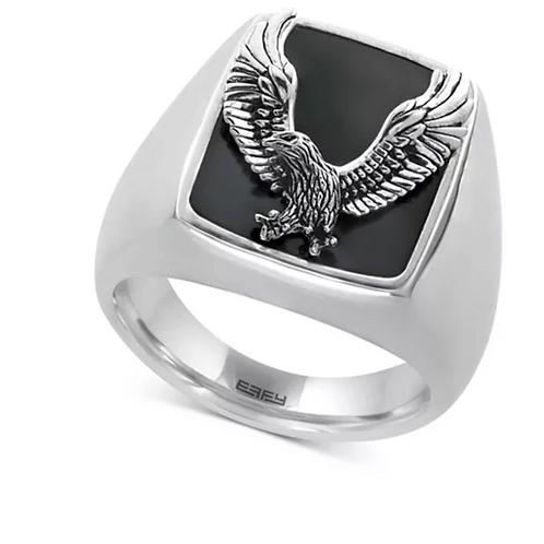 EFFY Onyx (16-3/4 x 13-1/2cm) Eagle Ring