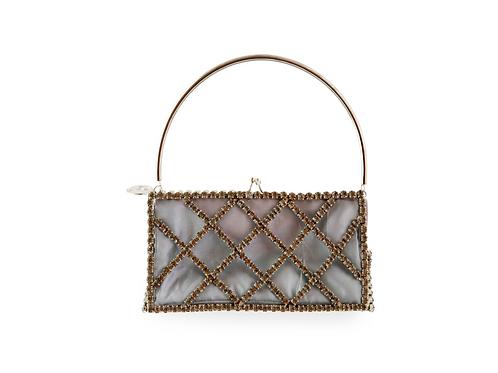 Rosantica Garofano Rectangular Top Handle Bag