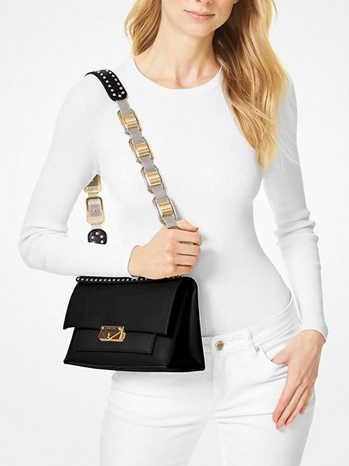 Michael Kors Cece Medium Leather Chain Shoulder Bag