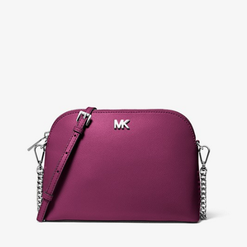 Michael Kors Dome Crossbody Red