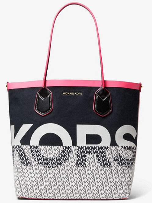 Michael Kors Large Carolina Tote Bag-Pink