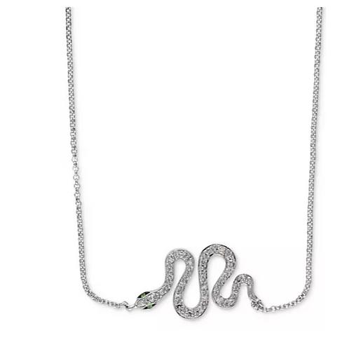 EFFY Diamond Snake Necklace 14K WG