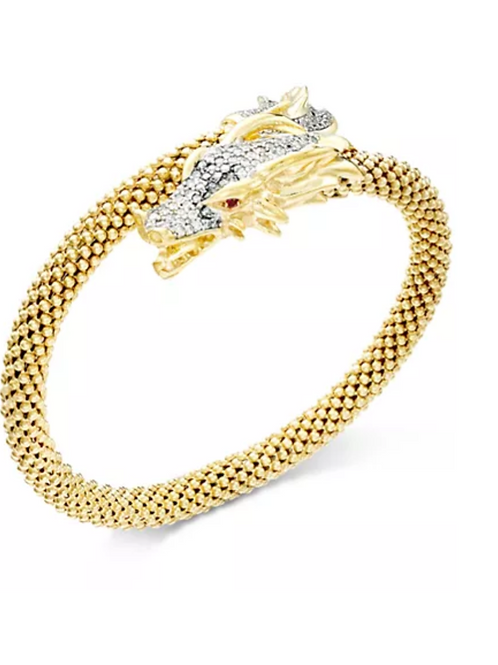 Diamond Dragon Bracelet (1 C.T.T.W.) 14K