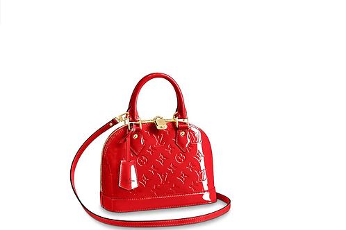 Louis Vuitton Alma BB Cherry
