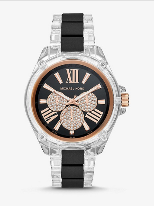 Michael Kors Acetate and Rose Gold Watch