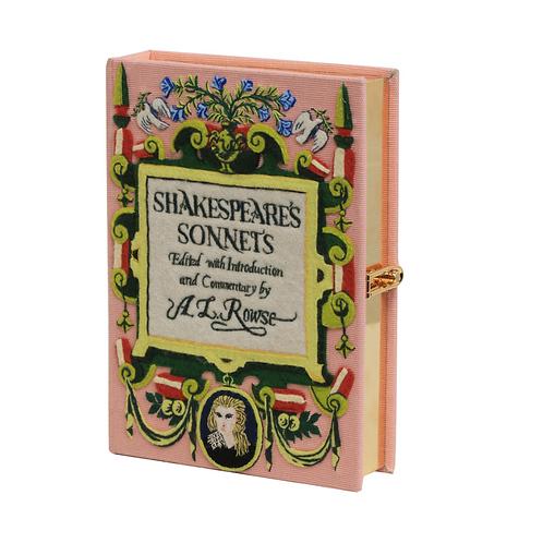 Olympia Le-Tan Shakespeare Sonnets Book Crossbody Bag