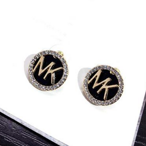Michael Kors Earrings with Halo in Gold