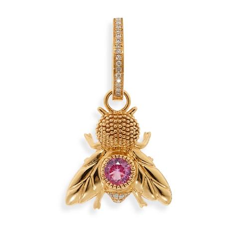 Yvonne Leon Fly Diamond Earrings 18K Gold