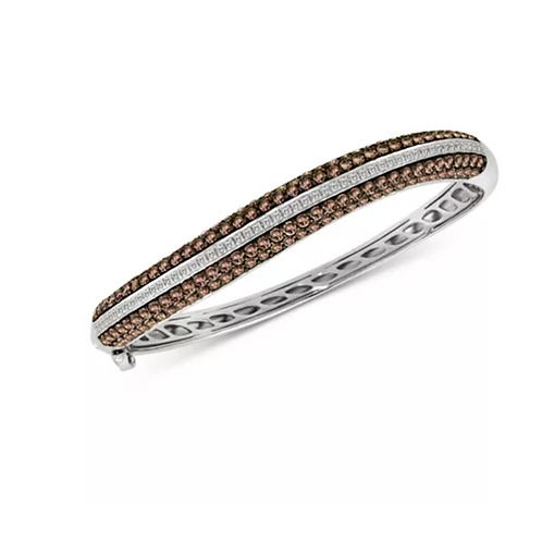 Le Vian Red Carpet Diamond Bangle Bracelet 14K White Gold