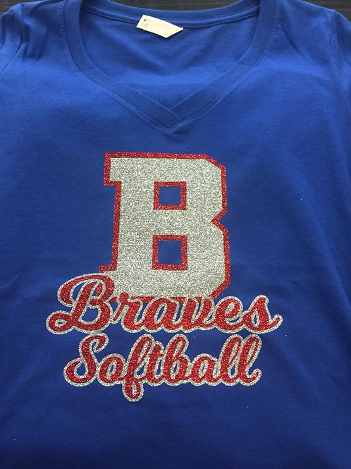 BMS Braves Softball Shirt