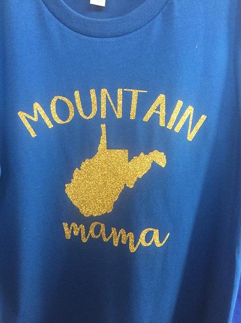 Mountain Mama Glitter Shirt
