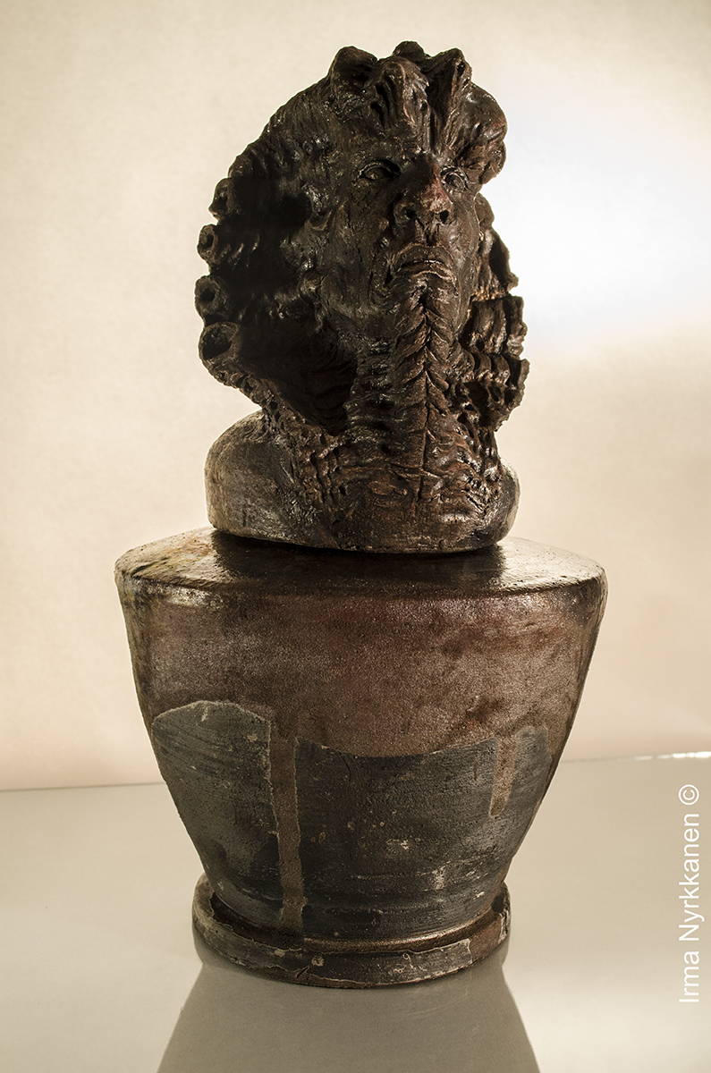 Ra Canopic Jar/Funerary Urn
