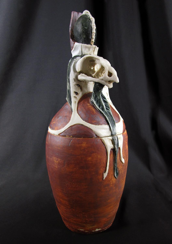 Horus 2 Canopic Jar/Funerary Urn, 2019