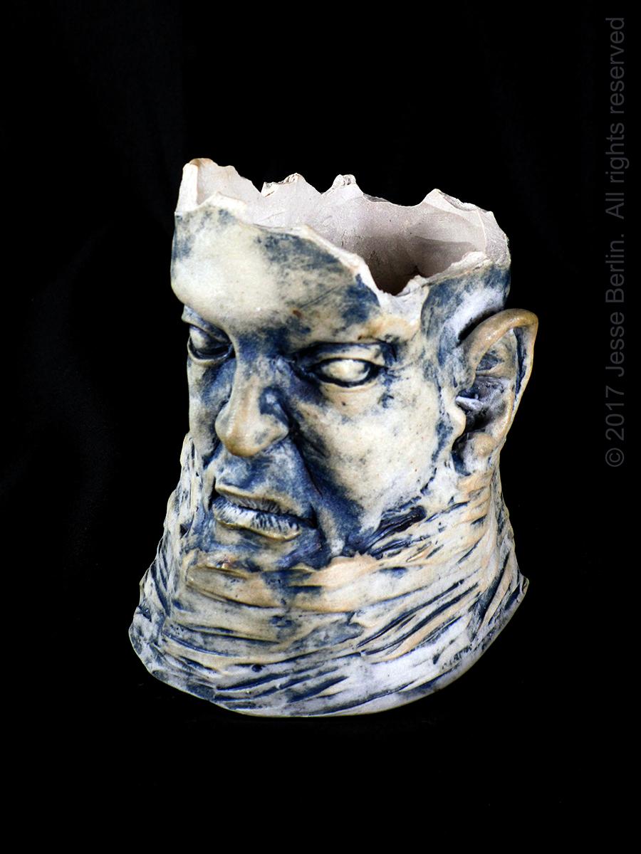 Fragmented Head Planter
