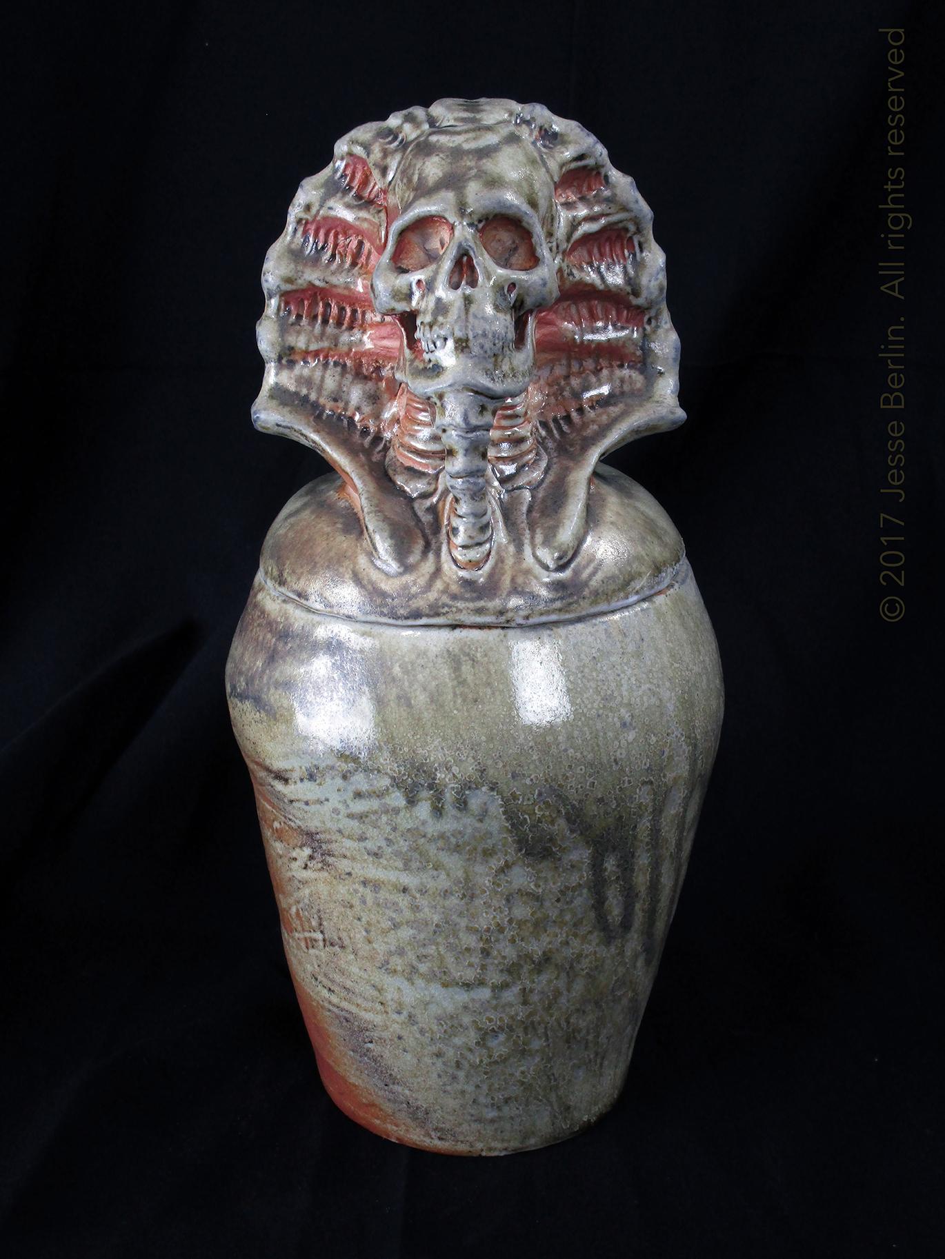 Osiris Canopic Jar/Funerary Urn