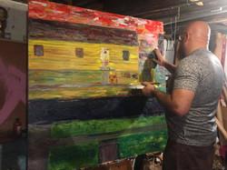 Chicago artist Allen Vandever