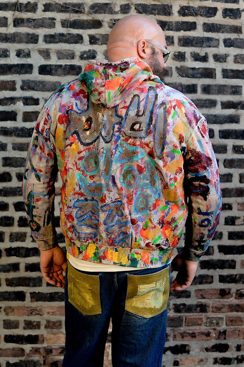 Hoody Painting. Size: XL