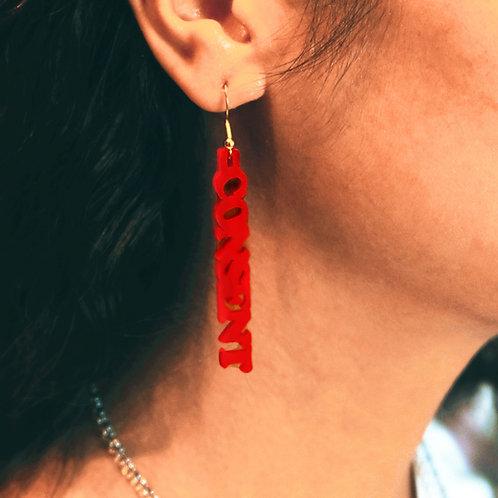 Consent Earrings