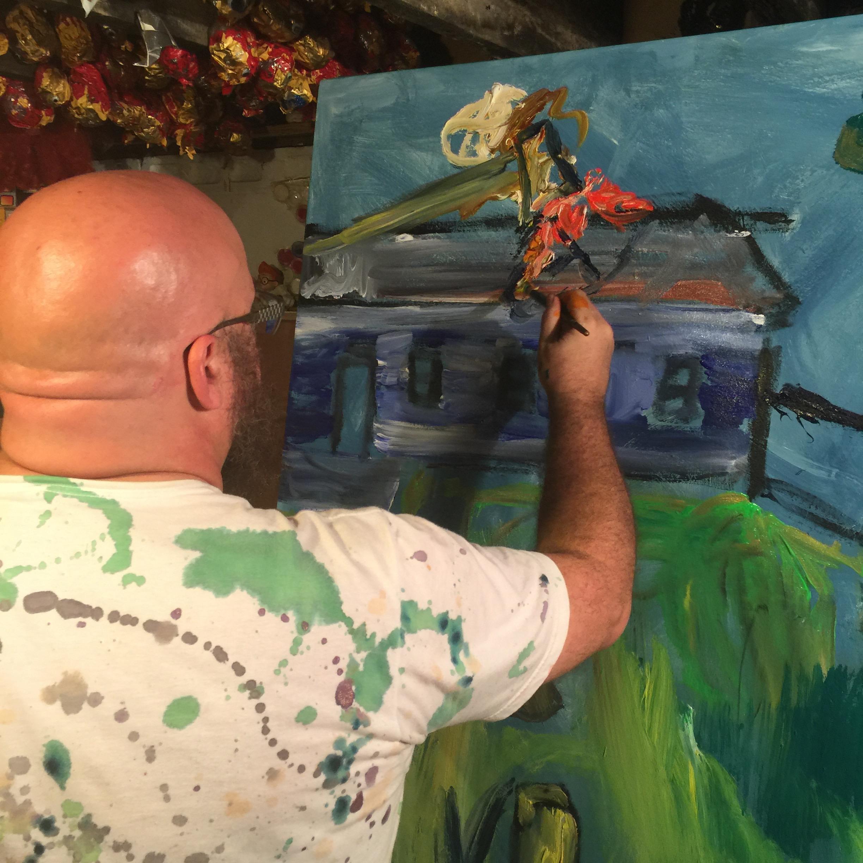 Painting in progresI