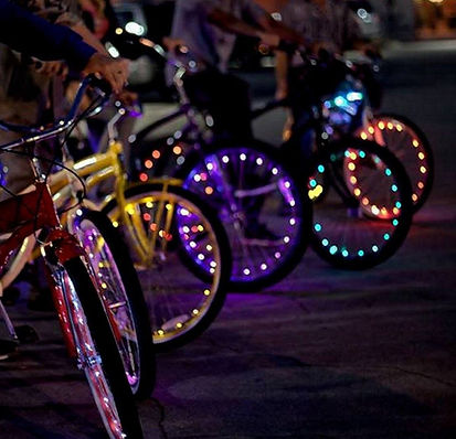 Galveston Island Bicycle Company Glow Ride