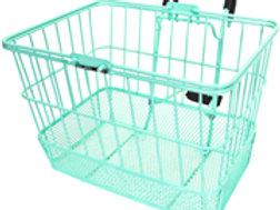 Wire Lift-off Sea Foam Bike Basket